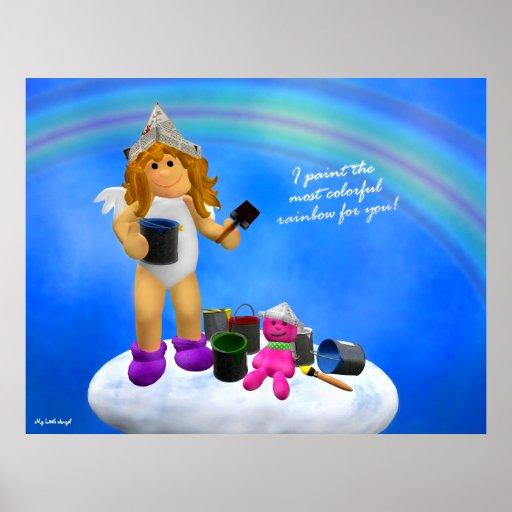 My Little Angel: Rainbow Poster