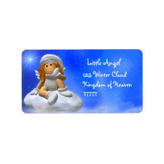 My Little Angel: Wintertime Labels