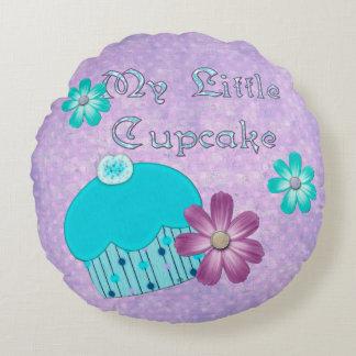 My Little Cupcake GIRLS Round Pillow