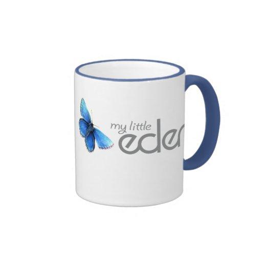 my little eden blue butterfly mug