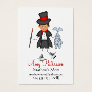 My Little Future Magician Mommy Cards