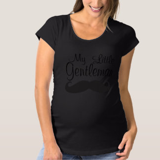 My Little Gentleman Maternity T-Shirt
