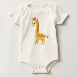 My Little Giraffe Baby Bodysuit