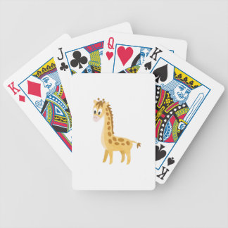 My Little Giraffe Bicycle Playing Cards