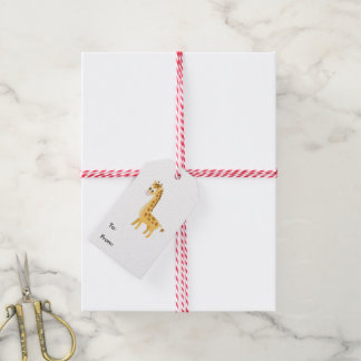 My Little Giraffe Gift Tags
