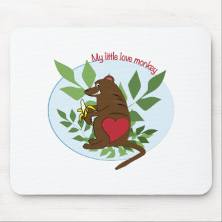 My Little Love Monkey Mouse Pads