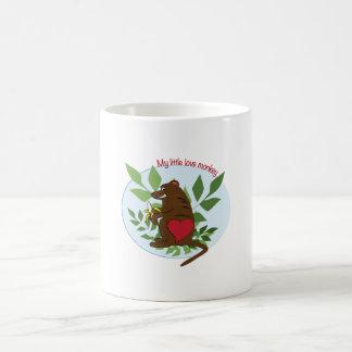 My Little Love Monkey Mug