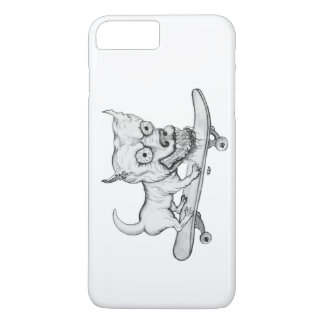 My little Lovely Dog - pencil drawing iPhone 7 Plus Case