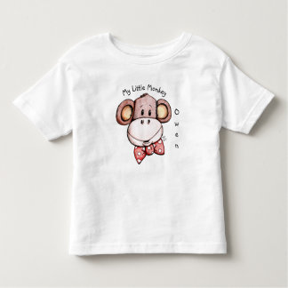 My Little Monkey Adorable Toddler T Shirt