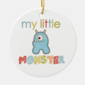 My Little Monster Ceramic Ornament