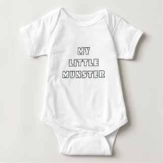 MY LITTLE MUNSTER BABY OUFIT BABY BODYSUIT