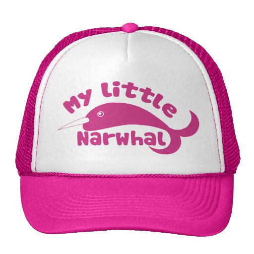 My little Narwhal Mesh Hat