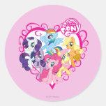My Little Ponies Heart Sticker