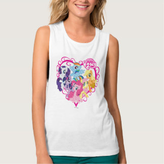 My Little Ponies Heart Tank Top