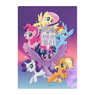 My Little Pony | Adventure and Friendship Forever Acrylic Print