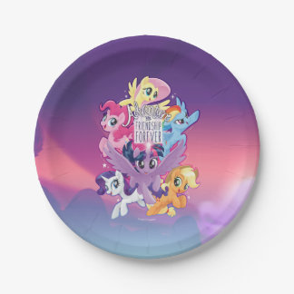 My Little Pony | Adventure and Friendship Forever Paper Plate