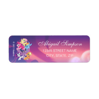 My Little Pony | Adventure and Friendship Forever Return Address Label