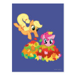 My Little Pony Fall Leaves Postcard