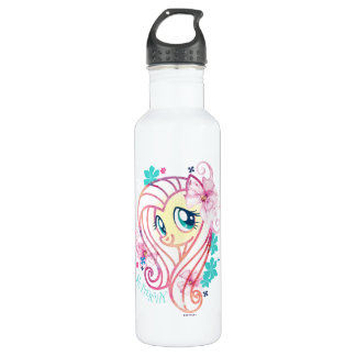 My Little Pony | Fluttershy Floral Watercolor 710 Ml Water Bottle