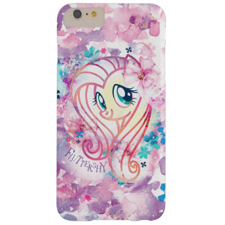 My Little Pony | Fluttershy Floral Watercolor Barely There iPhone 6 Plus Case