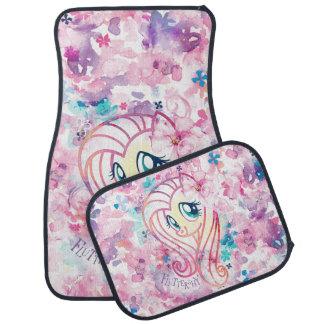 My Little Pony   Fluttershy Floral Watercolor Car Mat