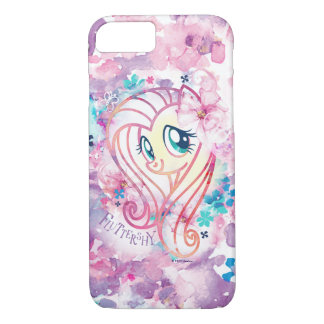 My Little Pony | Fluttershy Floral Watercolor iPhone 8/7 Case