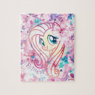 My Little Pony | Fluttershy Floral Watercolor Jigsaw Puzzle