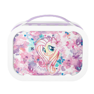 My Little Pony | Fluttershy Floral Watercolor Lunch Box