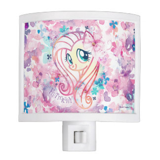 My Little Pony | Fluttershy Floral Watercolor Night Light