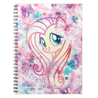 My Little Pony | Fluttershy Floral Watercolor Notebooks