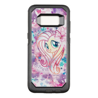 My Little Pony | Fluttershy Floral Watercolor OtterBox Commuter Samsung Galaxy S8 Case