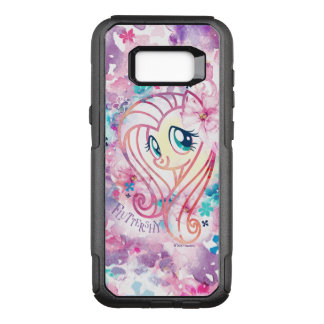 My Little Pony | Fluttershy Floral Watercolor OtterBox Commuter Samsung Galaxy S8+ Case
