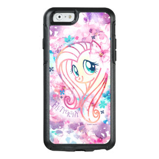 My Little Pony | Fluttershy Floral Watercolor OtterBox iPhone 6/6s Case