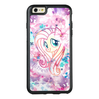 My Little Pony | Fluttershy Floral Watercolor OtterBox iPhone 6/6s Plus Case