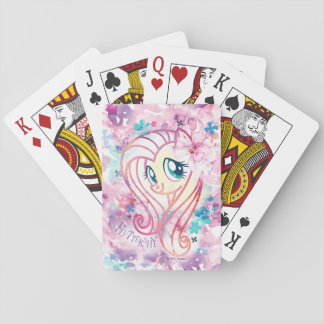 My Little Pony | Fluttershy Floral Watercolor Playing Cards