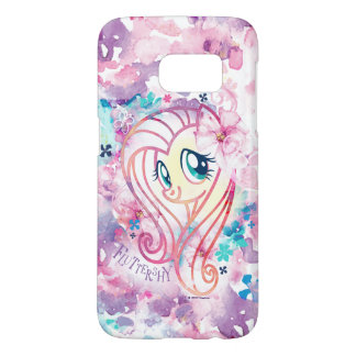 My Little Pony | Fluttershy Floral Watercolor Samsung Galaxy S7 Case
