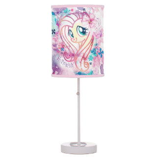 My Little Pony | Fluttershy Floral Watercolor Table Lamp