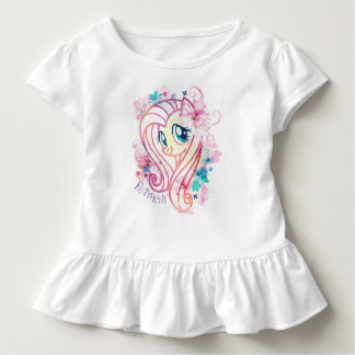 My Little Pony | Fluttershy Floral Watercolor Toddler T-shirt