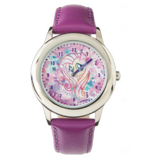My Little Pony | Fluttershy Floral Watercolor Watch