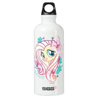 My Little Pony | Fluttershy Floral Watercolor Water Bottle