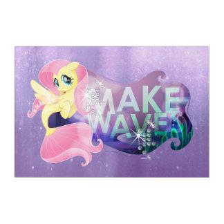 My Little Pony | Fluttershy - Make Waves Acrylic Print