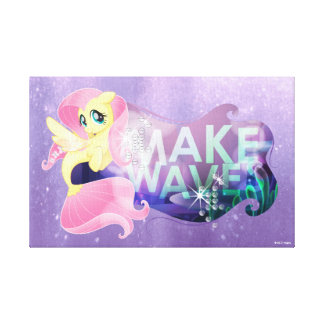 My Little Pony | Fluttershy - Make Waves Canvas Print