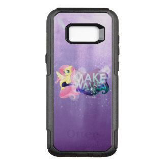 My Little Pony | Fluttershy - Make Waves OtterBox Commuter Samsung Galaxy S8+ Case