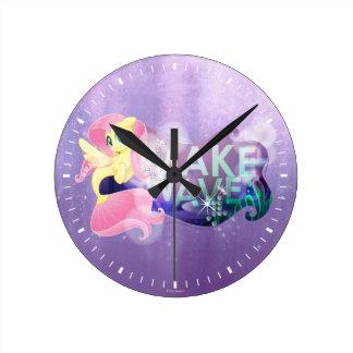My Little Pony | Fluttershy - Make Waves Round Clock