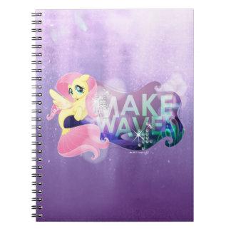 My Little Pony   Fluttershy - Make Waves Spiral Notebook