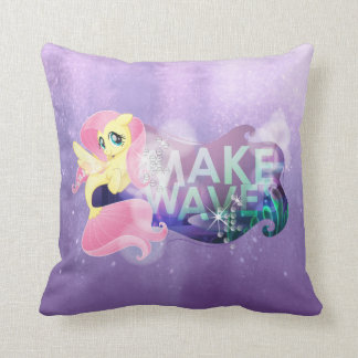 My Little Pony | Fluttershy - Make Waves Throw Pillow