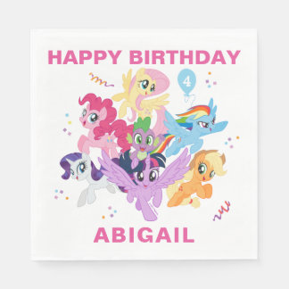 My Little Pony | Hot Pink Birthday Disposable Napkin