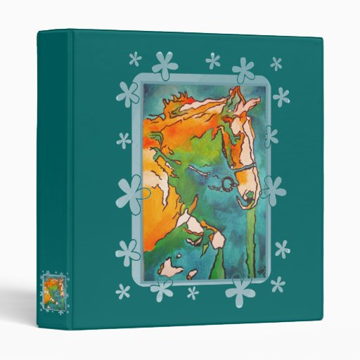 My Little Pony ( Jade and Tan 3 Ring Binders