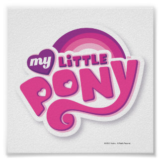 My Little Pony Logo Poster