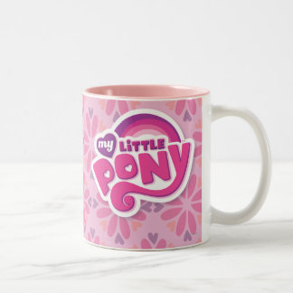My Little Pony Logo Two-Tone Coffee Mug